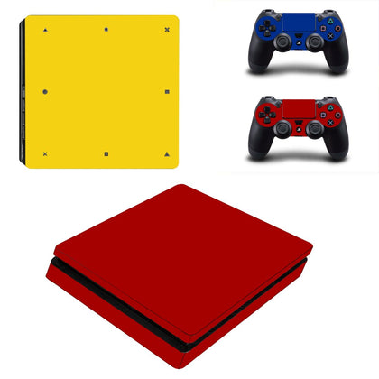 PlayStation PS4 Slim Solid Colours Skin Sticker - Design Vinyl