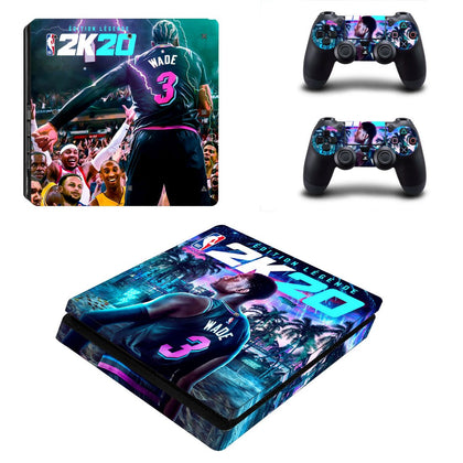 PlayStation PS4 Slim NBA 2K Skin Sticker - Game Vinyl