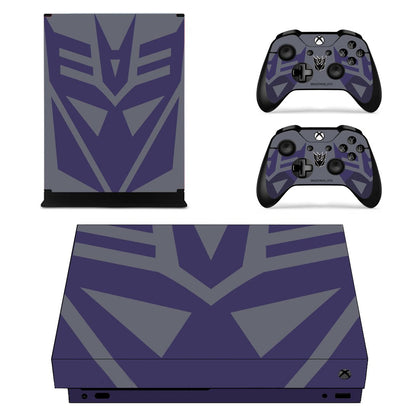 Xbox Xbox One X Transformers Skin Sticker - Anime Vinyl