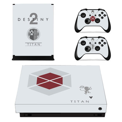 Xbox Xbox One X Destiny Skin Sticker - Game Vinyl