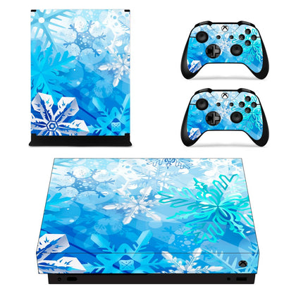 Xbox Xbox One X Colours Skin Sticker - Design Vinyl