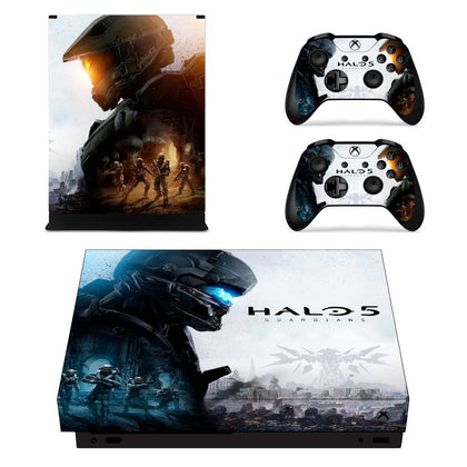 Xbox Xbox One X Halo Skin Sticker - Game Vinyl