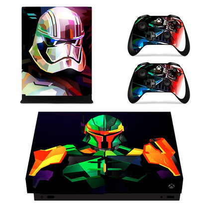 Xbox Xbox One X Star Wars Skin Sticker - Anime Vinyl