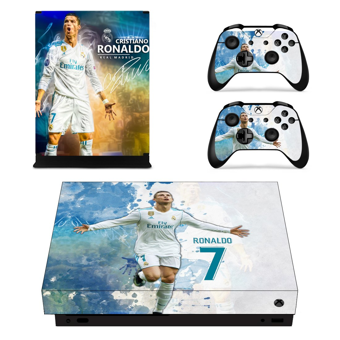 Real Madrid Xbox One X Skin Sticker Wrap