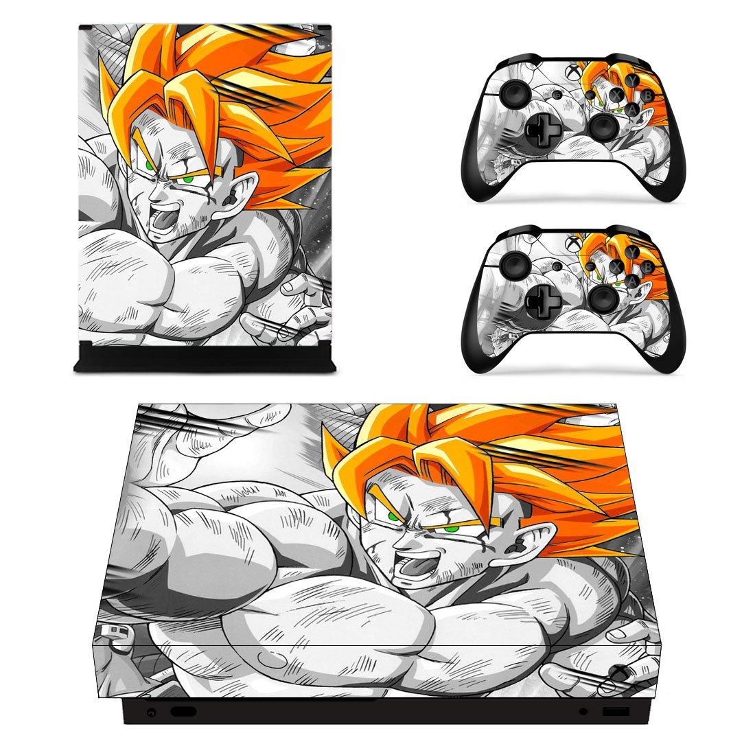 Dragon Ball Xbox One X Skin Sticker Wrap