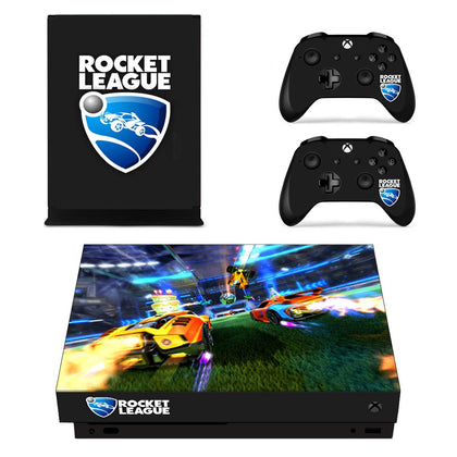 Xbox Xbox One X Rocket League Skin Sticker - Game Vinyl