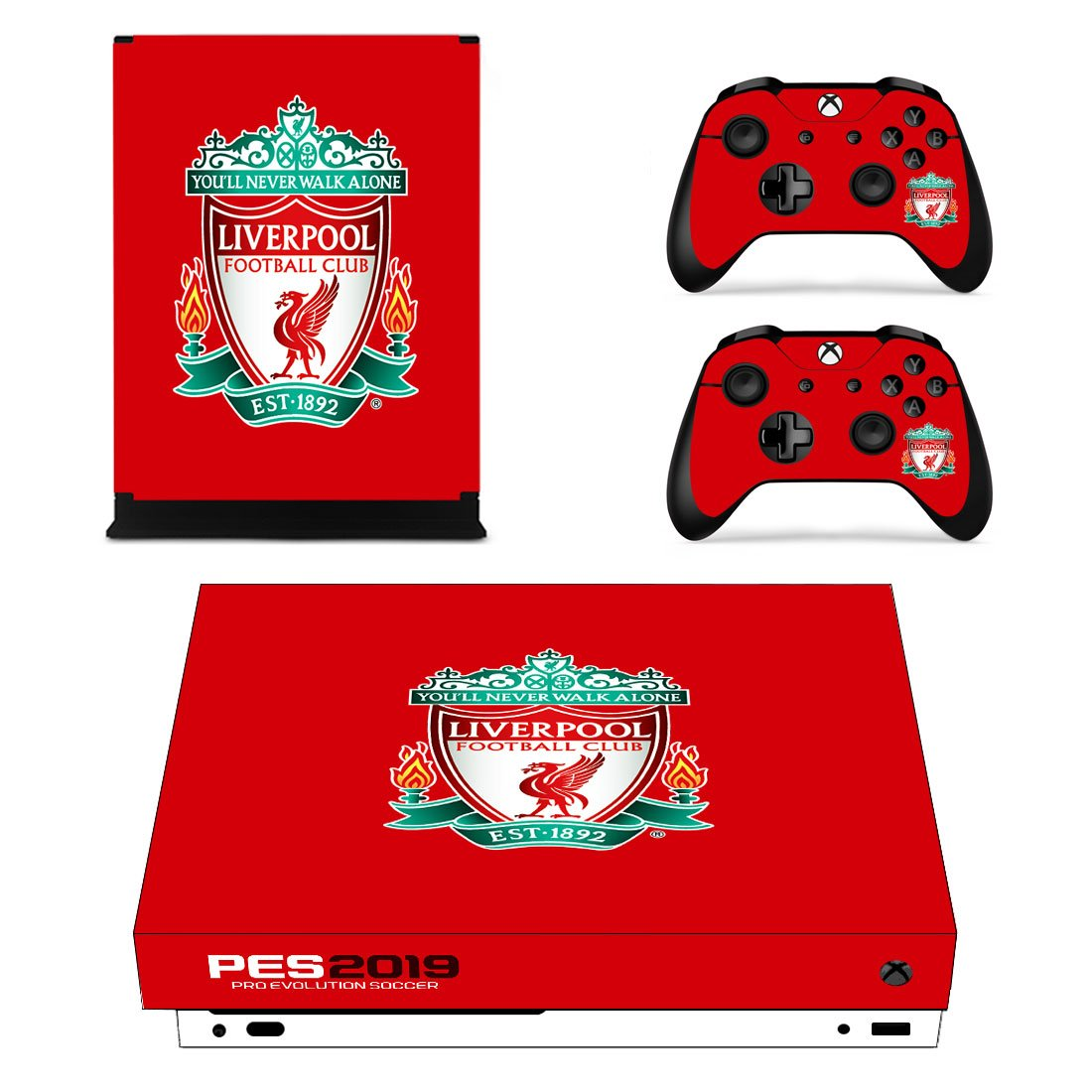 Liverpool Xbox One X Skin Sticker Wrap