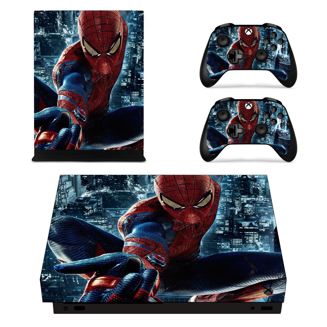 Spider-Man Xbox One X Skin Sticker Wrap