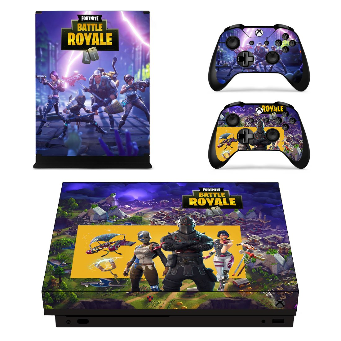 Fortnite Xbox One X Skin Sticker Wrap