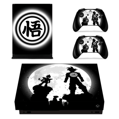 Xbox Xbox One X Dragon Ball Skin Sticker - Anime Vinyl
