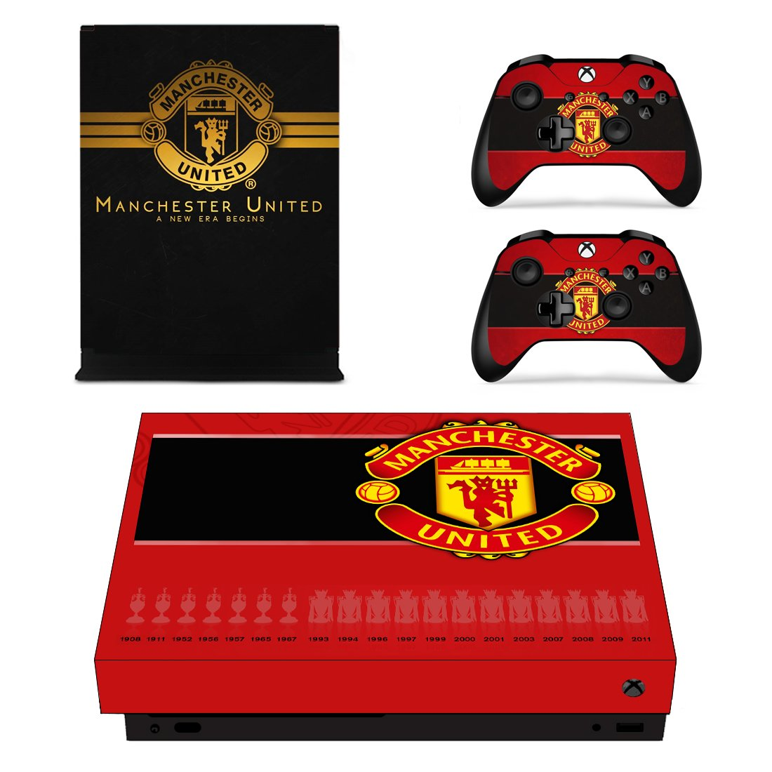 Manchester United Xbox One X Skin Sticker Wrap