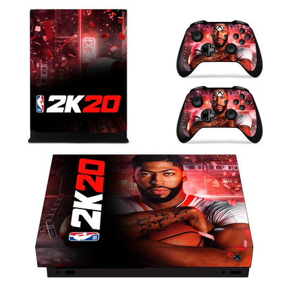 Xbox Xbox One X NBA 2K Skin Sticker - Game Vinyl