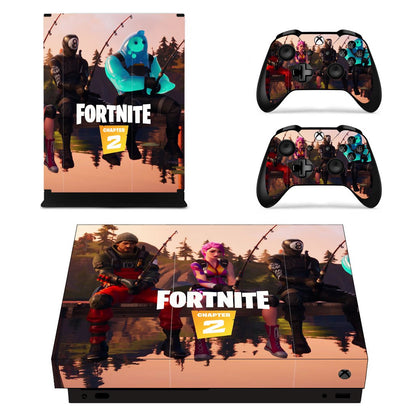 Xbox Xbox One X Fortnite Skin Sticker - Game Vinyl