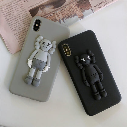 Cute Kaws Case For iPhone 11 Max Xs Max Xr X 6 6S 7 8 Plus