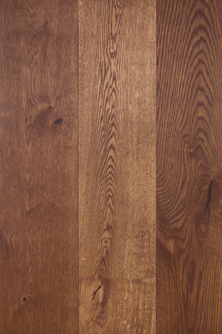 hardwood floor treated with WOCA Diamond Oil in Chocolate Brown