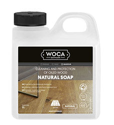WOCA Natural Soap - Cleaning and protection of oiled wood