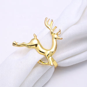 Reindeer Napkin Ring (Set of 4)