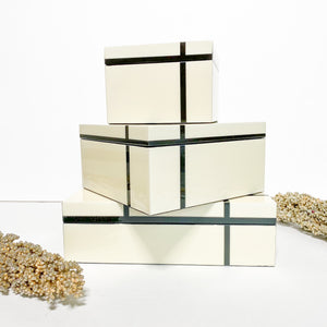 Domino White Gift Boxes