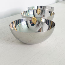 Load image into Gallery viewer, Silver 3 snack bowl