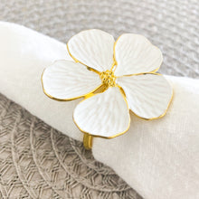 Load image into Gallery viewer, Flower Napkin Ring