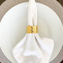 Load image into Gallery viewer, Gold Bracelet Napkin Rings ( Set of 4)