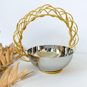 Twig Handle Bowl