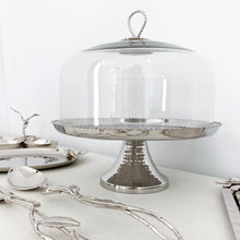 Load image into Gallery viewer, Silver Cake Stand