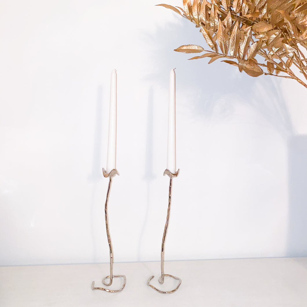 Lotus Candle Holders (Set of 2)