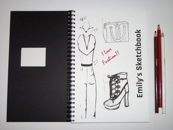 "Sketchbook - ""I Love Fashion"""