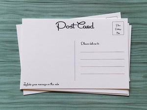 Blank Postcards Set: Style 4