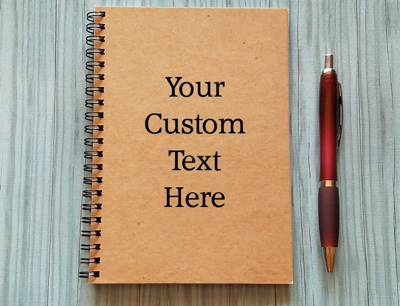 Notebook: Your Custom Text