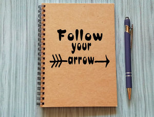 Notebook - Follow Your Arrow