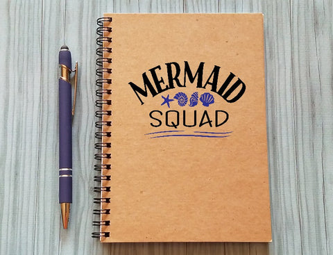 Notebook: Mermaid Squad