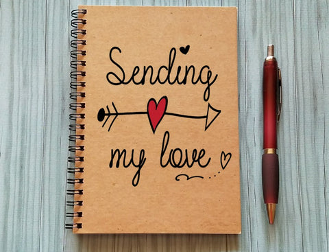 Couples Journal - Sending my love