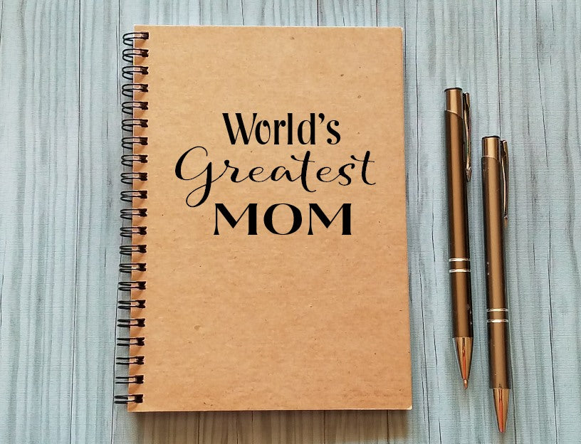 Notebook: World's Greatest Mom
