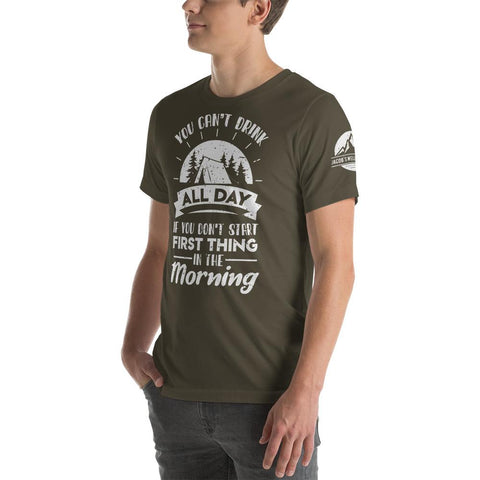 Jacob's Well Outfitters, Camping Shirt, Statement Shirt for Camping, Custom Design Shirt, Custom Shirt, Day Drinking Shirt, Unisex Shirt, Custom T-Shirt Design, Graphics Tee