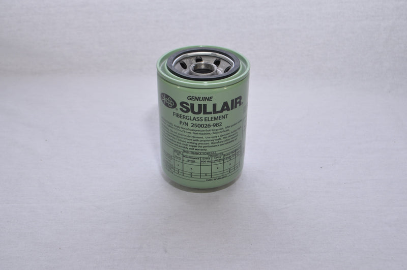 Sullair Oil Filter - 250026-982 OEM