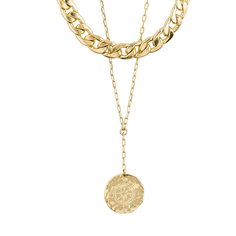 Compass 2-in-1 Necklace