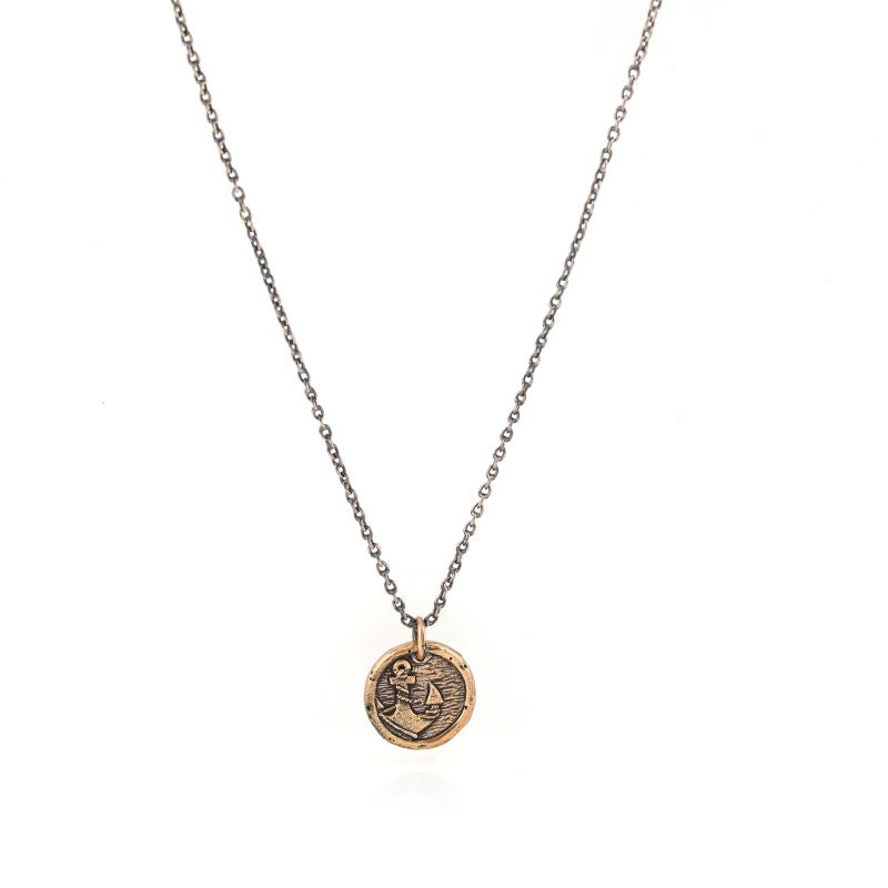 house of alaia protection anchor necklace