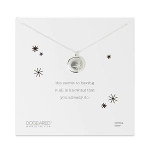 dogeared secret necklace silver