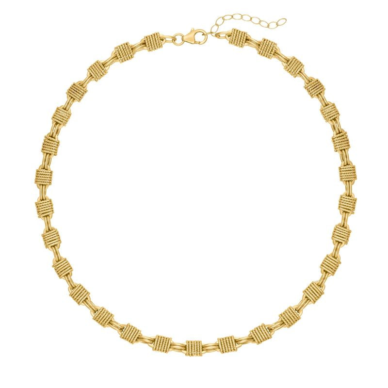 electric picks morrison chain gold necklace