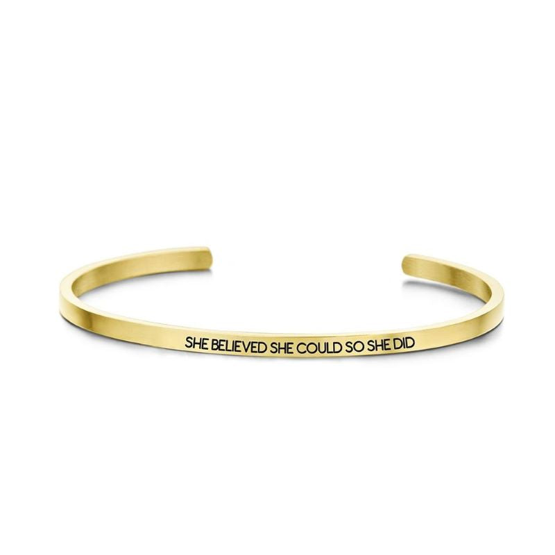 key moments she believed gold bangle