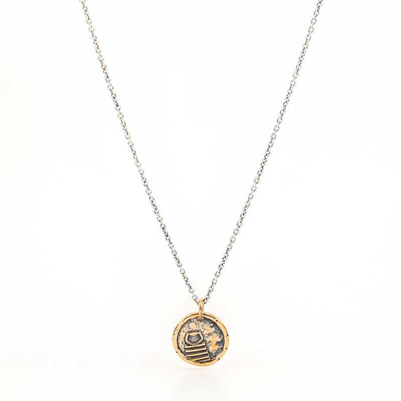 Compassion Traveller's Coin Necklace