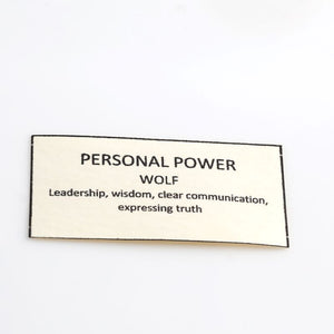 house of alaia personal power wolf meaning