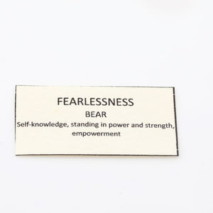 house of alaia fearlessness bear meaning
