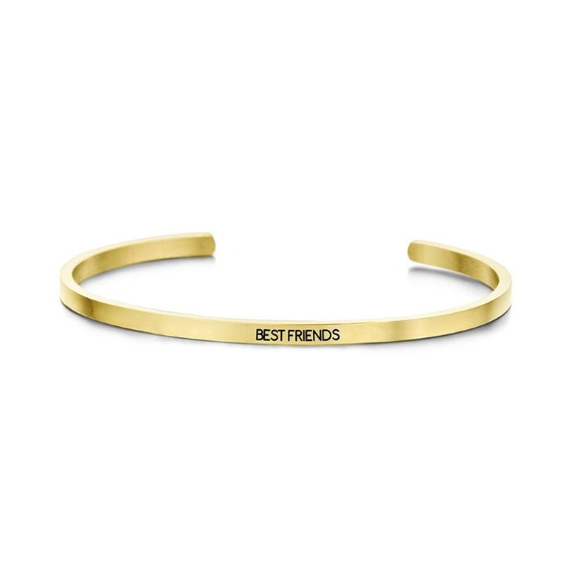 key moments best friend gold bangle
