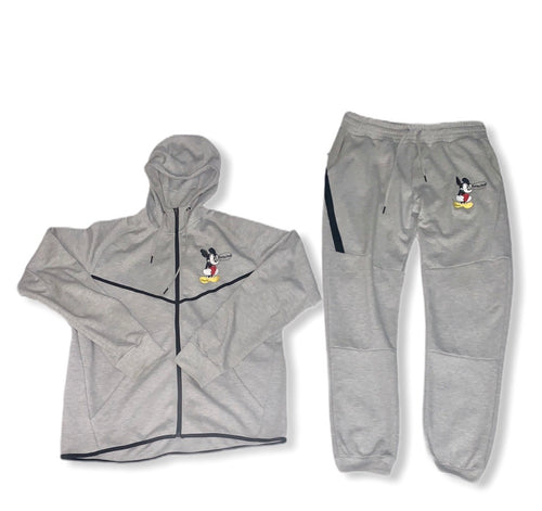 Women's Gray Mickey Mouse
