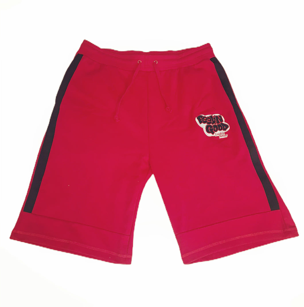 Men's Red FGLB Tech Shorts