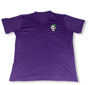Purple Custom Joker Logo T-shirt