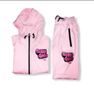Women's FGLB Pink Jogger Tech Fleece